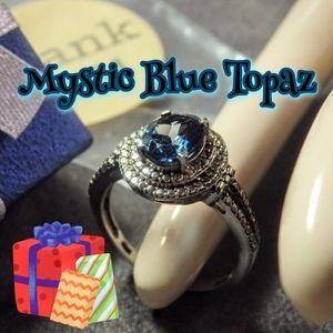 Jewelry - NEW Mystic Topaz Ring